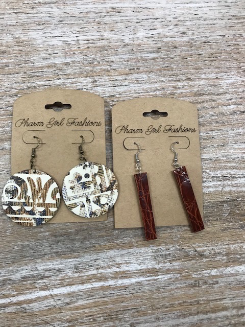 Jewelry Leather Earrings
