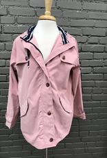 Jacket Blush Zip Jacket  w/ Hood