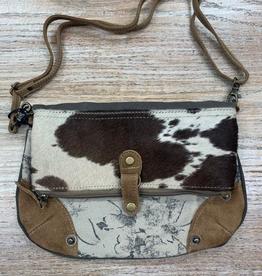 Bag Coal-Black Flap Small & Crossbody Bag