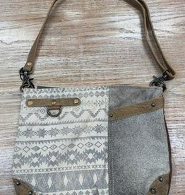 Bag Side Floral Design Shoulder Bag