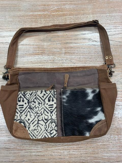 Bag Two Tone- Two Design Messenger Bag