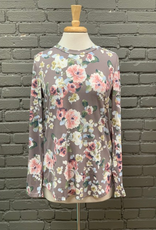 Long Sleeve Floral LS Top