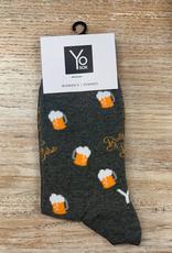 Socks Women's Crew Socks, BeerBabe