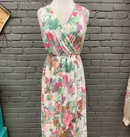 Dress Floral HiLo Maxi Dress