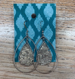 Jewelry Teardrop Beaded Earrings
