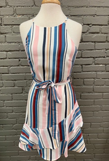 Dress Blue Stripe Cami Dress