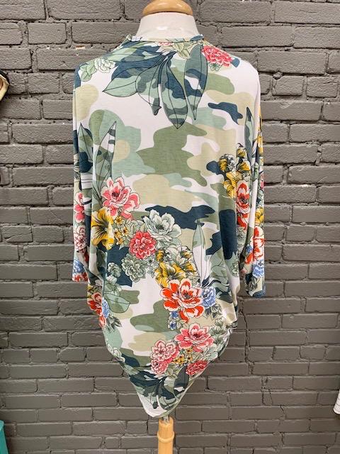 Kimono Floral Camo Kimono