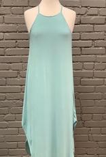 Dress Basic Cami Knit Dress w/ Side Slits