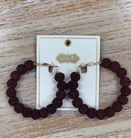 Jewelry Wrapped Hoop Earrings