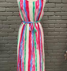 Dress Striped Maxi Dress