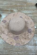Hat Flower Floppy Hat