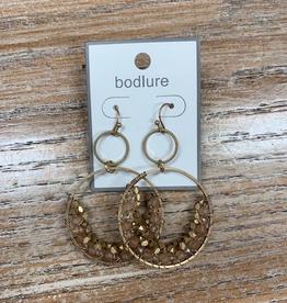 Jewelry Hoop Earrings w/ Gemstones
