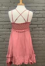Dress Brick Crochet Bralette Dress