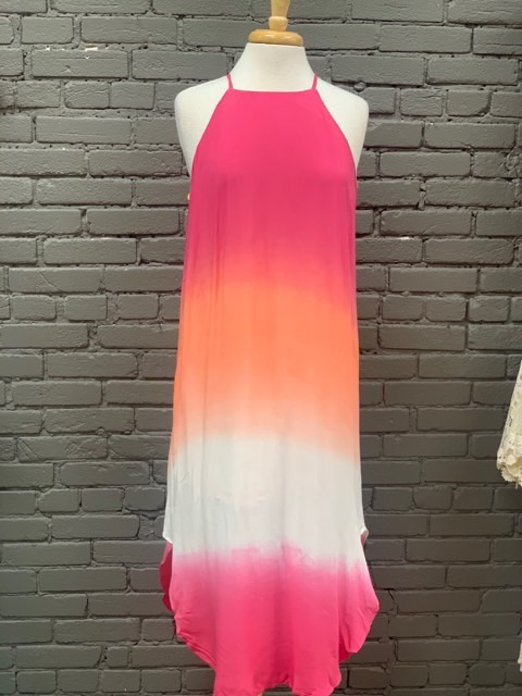 Dress Ombre Dyed Woven Cami Dress