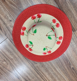 Hat Cherry Floppy Hat