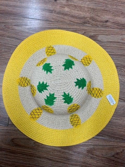 Hat Yellow Pineapple Flopy hat
