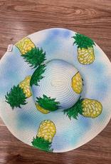 Hat Blue Floppy Pineapple Hat
