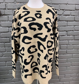 Sweater Baye Leopard Sweater