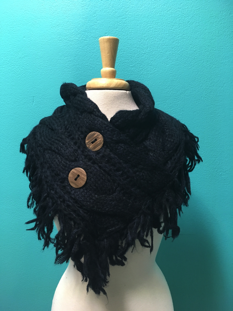 Scarf Knitted Neck Wrap