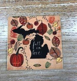Decor Fall In Love Coaster