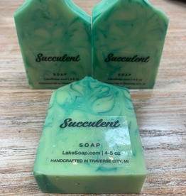 Beauty Lake Soap, Succulent
