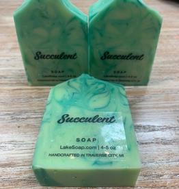 Beauty Lake Soap, Succulent