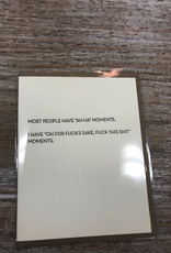 Card Ah Ha Moments Card