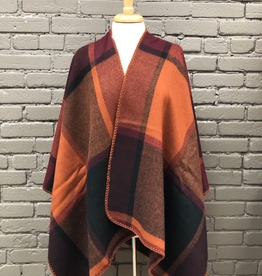 Poncho Orange Mix Poncho