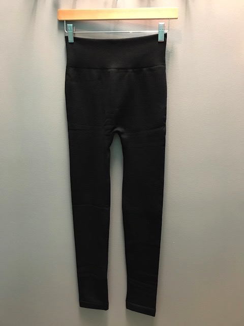 Leggings Black Fleece Lined Leggings