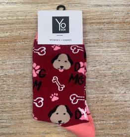 Socks Women's Crew Socks, DogMom