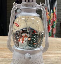 Decor LED Lantern Snowman