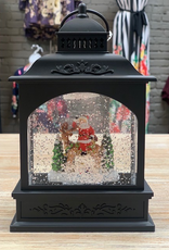 Decor LED Lantern Santa & Reindeer