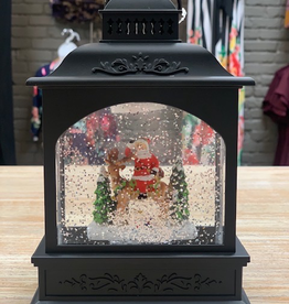 Decor LED Lantern Santa & Reindeer