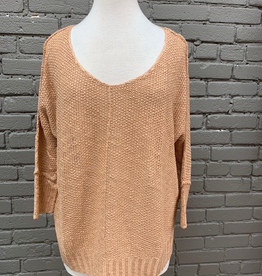 Sweater Blush Slouchy Sweater