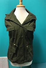 Vest Button Up Vest w/ Pockets