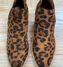 Boot Leopard Ankle Booties