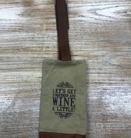 Bag Let's Get Wine Bag
