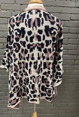 Kimono Leopard Print Kimono
