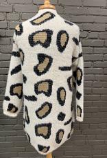 Cardigan Leopard Cardi w/ Pockets