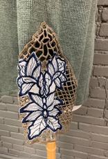 Long Sleeve Olive LS Thermal Crochet Wrist
