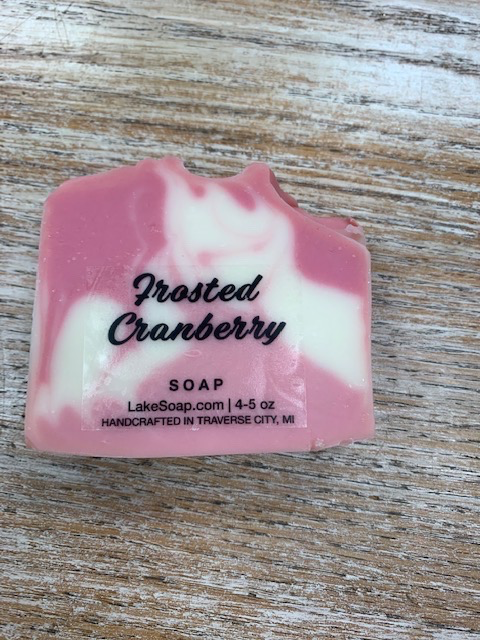 Beauty Lake Soap Co, Frosted Cranberry