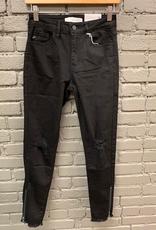 Jean Black High Rise Skinny Jeans