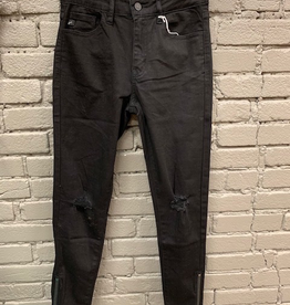 Jean Black High Rise Skinny Jeans