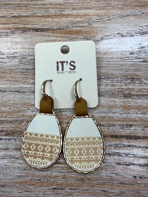 Jewelry Aztec Print Dangle Earrings