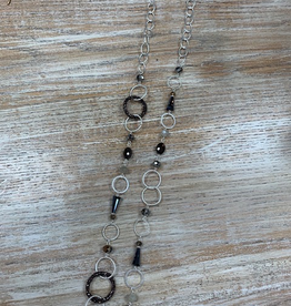 Jewelry Multi Circle Chain Necklace