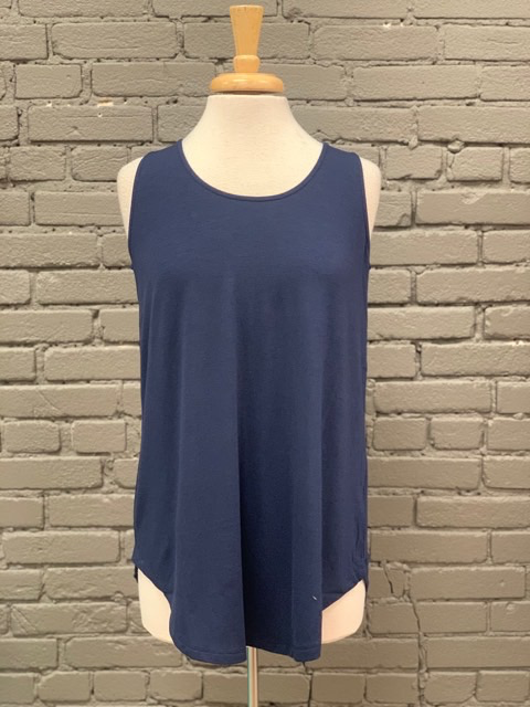 Tank Round Neck Solid Tank