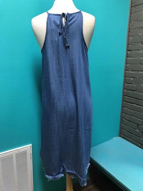 Dress Ryan Denim Swing Dress