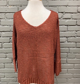 Sweater Brick Slouchy Sweater