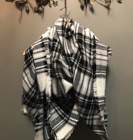 Scarf Plaid Blanket Scarves
