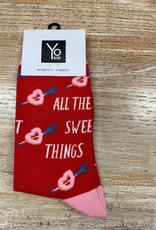 Socks Women's Crew Socks- Sweet THings